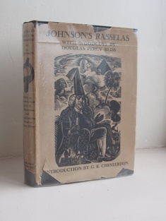 Rasselas: Prince of Abissinia by Dr Johnson (illus. DOUGLAS PERCY BLISS) English Books by Illustrator > BLISS