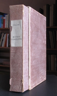 Oeuvres Completes de Francois Villon (illus. JEAN PEYRE) Illustrated French Classics