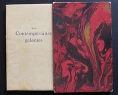Les Contemporaines Galantes by Pierre Mac Orlan (illus. ANDRE DIGNIMONT) French Books/Livres en Français by illustrator > DIGNIMONT