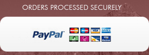 Orders Processed Securely using SagePay