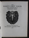 The Ninety-first Psalm (illus. DOROTHY BRABY)