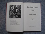 The Cold Flame : Poems by Fredoon Kabraji (illus. George BUDAY)