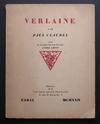 Verlaine by Paul Claudel ( illus. André LHOTE )