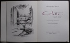 Colette ''Mon Ami'' by Francis Carco ( illus. Charles-Marcel ECHARD )